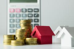 Mortgage loan calculator Kuvituskuvat