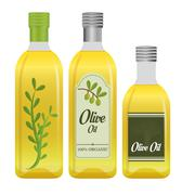 Olive oil design - stock illustration