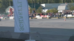 Car drift championship Stock Footage