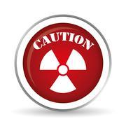 Caution design. illuistration - stock illustration
