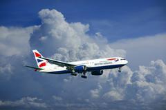 British Airways Airbus A320 - stock photo