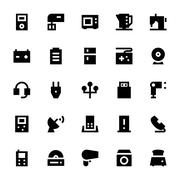 Electronics and Devices Vector Icons Pack Piirros