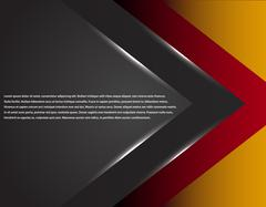 Black and red corporate tech striped graphic design. Glowing lines. Colorful Stock Illustration