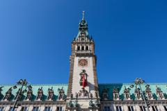 The Rathaus, Hamburg, Germany - stock photo