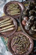 Souvenir bullets, Sarajevo, Bosnia and Herzegovina Stock Photos