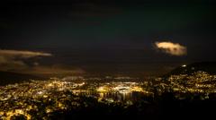 Bjoergvin | Aurora over Bergen - III Stock Footage