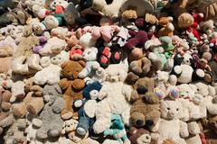 Large group of teddy bears Stock Photos