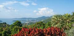 View of the Andaman Sea, Phuket Stock Photos