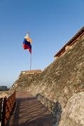 Castillo San Felipe de Barajas, Cartagena, Colombia - stock photo
