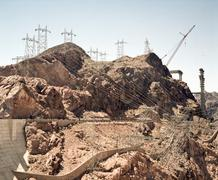 Hoover dam under construction, Nevada, USA Kuvituskuvat