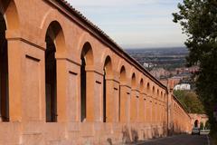 Portico di San Luca, Bologna, Italy Stock Photos