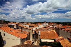 Rooftops in Arles, Provence-Alpes-Cote d'Azur, France Stock Photos