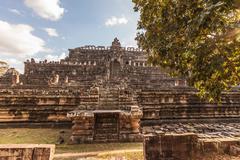 Baphuon Temple, Angkor Thom, Cambodia Stock Photos