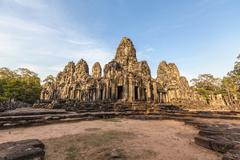 Bayon Temple, Angkor Thom, Cambodia - stock photo