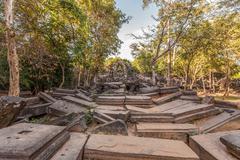 Beng Mealea Temple ruins, Angkor, Cambodia Stock Photos