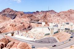 Hoover Dam, Nevada, California, USA Kuvituskuvat