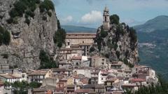 Bagnoli del Trigno, a small village in the province of isernia, Molise Stock Footage