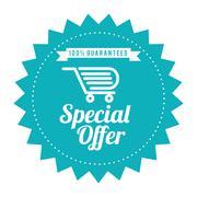 Special offer design - stock illustration