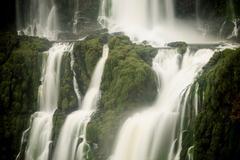 Detail of Iguazu falls, Parana, Brazil Stock Photos