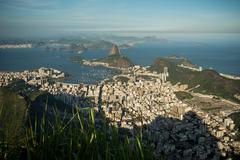 Distant view of Rio De Janeiro coastline, Brazil Kuvituskuvat