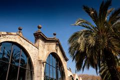Maritime Museum, former Royal Shipyards, Barcelona, Catalonia, Spain Stock Photos