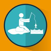 Activity icon design Stock Illustration