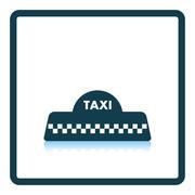 Taxi roof icon Stock Illustration