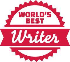 World's best writer Piirros