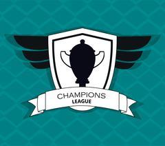 Trophy icon, vector illustration Stock Illustration