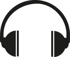 Headphone icon Stock Illustration