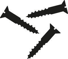 Screws symbol Stock Illustration