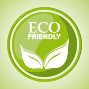 Eco friendly design Stock Illustration