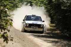 Kocaeli Rally 2016 Stock Photos