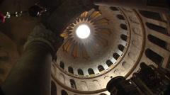 Church of the Holy Sepulcre Jerusalem Stock Footage