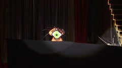 Concert , presentation of artists , theater Stock Footage