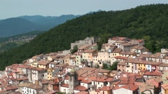 Miranda, a small village in the province of isernia Stock Footage