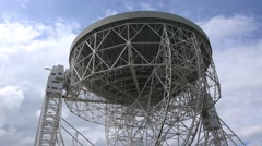 Lovell Telescope - Jodrell Bank Space Research Centre Stock Footage