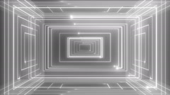 abstract line motion music background LOOP Colorless - stock footage