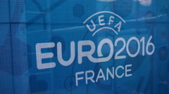 Uefa Euro 2016 - stock footage
