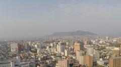 Goryokaku tower Stock Footage