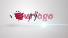 Logo Reveal Buzz Stock After Effects