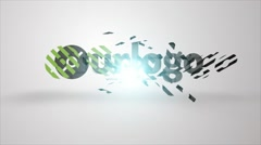 Plus Logo Formation - stock after effects