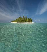 Tropical island, Ari Atoll, Maldives Stock Photos