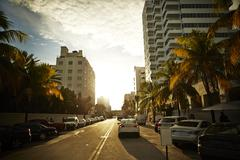 Holiday resorts, Miami, Florida, USA Kuvituskuvat