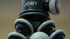 Joby Gorillapod Tripod Stock Footage