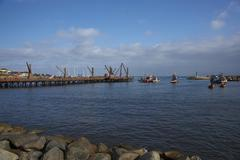 ANTOFAGASTA, CHILE - MAY 16, 2016: Historic Pier Stock Photos
