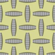 Film Stripes Background Seamless Cinema Pattern - stock illustration