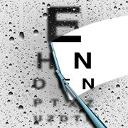 Clear Vision Stock Illustration