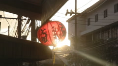 Traditional Chinese New Year Lantern Stock video footage - stock footage