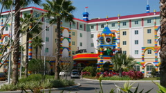 Legoland Hotel At The Lego Theme Park Winter Haven Florida Stock Footage